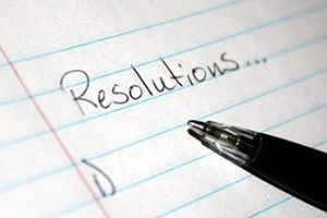 Don't Make a Typical New Year's Resolution